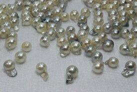 あこや 真珠  バロック チョッピ 片孔 材料     532P15May16   ポイント5倍