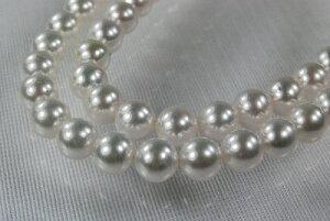 フォーマル あこや 真珠 アコヤ 8.5mm ネックレス 40cm  ホワイト ラウンド   532P15May16   ポイント5倍