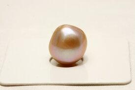 淡水真珠パールルース 12×11mm パープルカラー