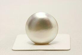 マベ真珠パールルース 22mm ホワイトピンクカラー