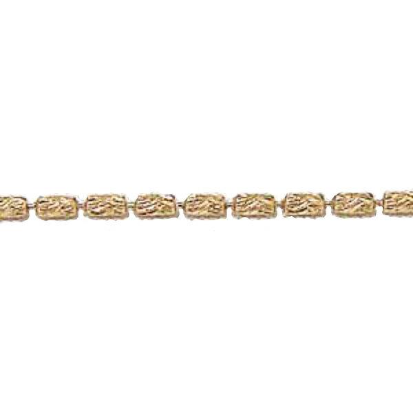 チェーン K18ピンクゴールド シリンダーカット1.2mmチェーン 45cm スライド式【RCP】