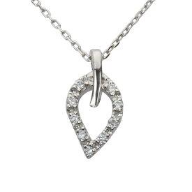 ネックレス メンズ ダイヤモンド プラチナ pt900 ネックレス リーフ プチネックレス ダイヤ ペンダント 品質保証書付き ケース付き 送料無料 ラッピング無料 4月誕生石 プレゼント 誕生日 記念日 アクセサリー ジュエリー 人気 おすすめ