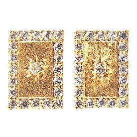 ピアス ダイヤモンド 0.22ct K18 ダイヤモンドピアス ダブルロックキャッチ 4月誕生石 送料無料 普段使い