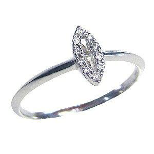 ピンキーリング ダイヤモンドリング 指輪 ホワイトゴールド K18 送料無料 アクセサリー ジュエリー 人気 おすすめ カジュアル トレンド プレゼント ギフト 記念日
