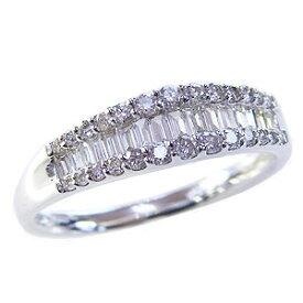 ダイヤモンドリング 婚約指輪 プラチナ エンゲージリング 指輪 ダイヤモンド 0.50ct