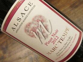 ナチュラルワイン ピノ・ノワール (赤) 2012 マルク・テンペ Pinot Noir Marc Tempe