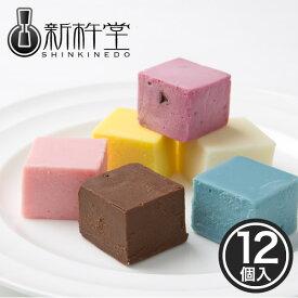 東京シティ浪漫 カラフルショコラ 12個 / 新杵堂 スイーツ チョコレート ギフト プレゼント 贈り物 お土産