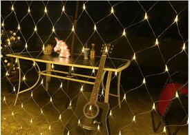 LEDイルミネーション クリスマスライト 防雨型3m*2m イルミネーション LED ライト ネット 網 屋外 室内 防水 連結可 クリスマス ハロウィン 飾りつけ