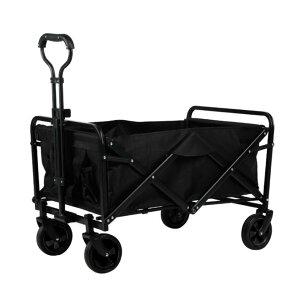キャリーワゴン 折りたたみキャリーカート 耐荷重80kg 大容量 ポケットのデザイン 取り外し可能な布カバー 洗濯が便利です ワンタッチ収束式 4輪 特大タイヤ 全地形対応 アウトドア キャン
