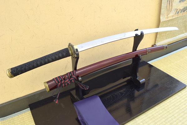 【あす楽対応!】 刀剣乱舞-ONLINE- コラボ商品 オリジナル模造刀 「 加州清光 」【代引き手数料・送料無料!】販売はしのびやのみ! 職人が丹念に製造。 コスプレのグッズとしても人気です。 日本刀 ast