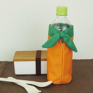 【保冷ペットボトルカバー】 YAOYA ボトルホルダー オレンジ 【追跡可能メール便送料無料!】[ 果物 フルーツ みかん オレンジ ペットボトルカバー 水筒 マイボトル ボトルホルダー 500ml 600ml