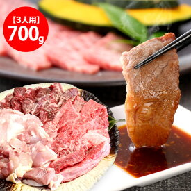 バーベキュー焼肉セット700g