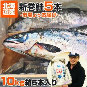 【 業務用 】塩漬け 新巻鮭 北海道産 10kg 5尾 | 塩鮭 姿 鮭 北海道 一本もの シャケ しゃけ サケ さけ 産地直送 ギフト 国産 お祝い 祝賀品 塩引鮭 塩引き鮭 お取り寄せグルメ お取り寄せギフト