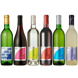 NipponのWINE飲み比べセット 6本セット 750ml×3本 720ml×3本果実酒 日本ワイン 国産ワイン まとめ買いでお得 宴会 パーティー ストック 海外へのお土産
