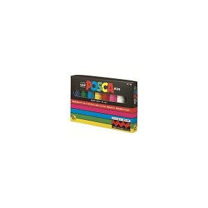 三菱鉛筆 ポスカ PC8K8C 太字 8色セット