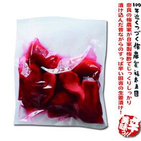 紅しょうが 300g 無添加!高知県産 しょうが奈良の梅農家が自家製の梅酢で漬け込んだ紅しょうが 無添加 生姜 紅しょうが 梅酢 生姜梅酢漬け