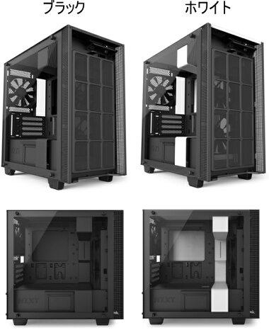 8f36c3aea6 NZXTSmartDevice搭載インテリジェントPCケースNewHシリーズH400iCA-H400W-BBCA-H400W-WB2