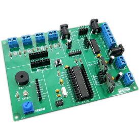 【店内全品ポイント5倍以上】BitTradeOne ADGH07P 【組立済】Arduinoで楽しむ鉄道模型実験ボード、楽しい鉄道模型