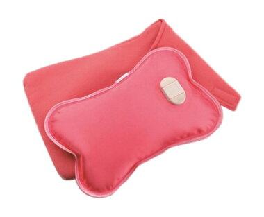 【送料無料】充電式湯たんぽやわらか〜湯たんぽローズピンクPH-1保温袋付き