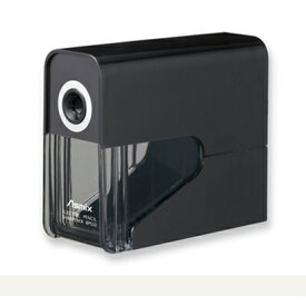 【在庫あり・包装無料】アスカ 乾電池式シャープナー鉛筆削り ブラック DPS30BK