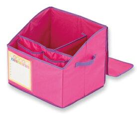 (KC)【取寄】アスカ 目隠しフタつきランドセル収納BOX ピンク STB01P