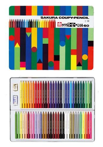 【在庫あり・単品送料無料!・包装無料】サクラクレパス クーピーペンシル 60色 色鉛筆 FY60