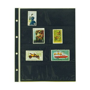 (KC)テージー コレクションアルバム用4段ポケット  大型切手単片用 CA-304S
