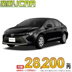 ☆月額 30,400円 楽乗りCAR 新車 トヨタ カローラ 2WD 1800 HYBRID W×B