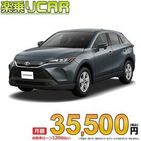 ☆月額 35,500円 楽乗りCAR 新車 トヨタ ハリアー 4WD 2000 S