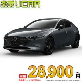 ☆月額 36,200円 楽乗りCAR 新車 マツダ MAZDA3 ハッチバック 4WD 1800 XD Burgundy Selection