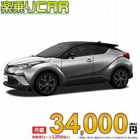 """☆月額 34,000円 楽乗りCAR 新車 トヨタ C-HR 4WD 1200 G-T""""Mode-Nero"""" ガソリン車"""