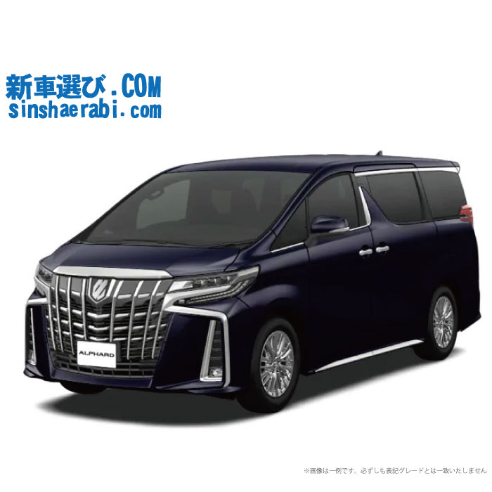 ☆月額 54,400円 楽乗りCAR 新車 トヨタ アルファード 2WD 3500 SC 7人乗り