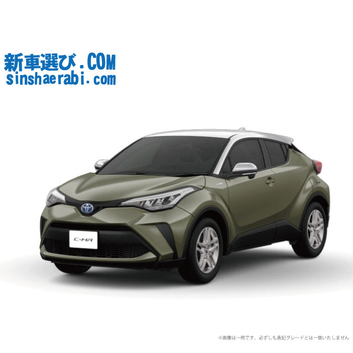 ☆月額 28,700円 楽乗りCAR 新車 トヨタ C-HR 2WD 1800 HYBRID S