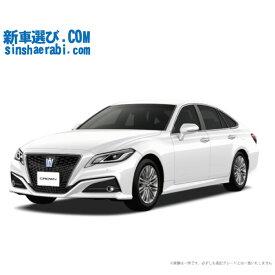 ☆月額 56,200円 楽乗りCAR 新車 トヨタ クラウンハイブリッド 4WD 2500 S Four