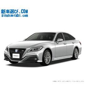 ☆月額 62,900円 楽乗りCAR 新車 トヨタ クラウンハイブリッド 4WD 2500 G Four