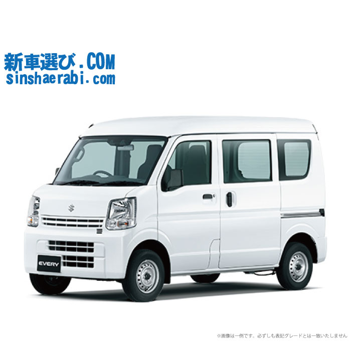 《新車 スズキ エブリイバン 2WD 660 PA 5MT 》