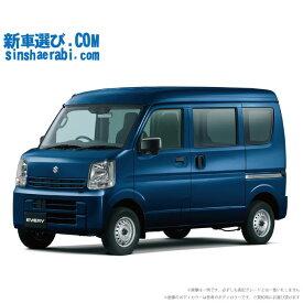 ☆月額 12,600円 楽乗りCAR 新車 スズキ エブリイバン 2WD 660 PA 4AT