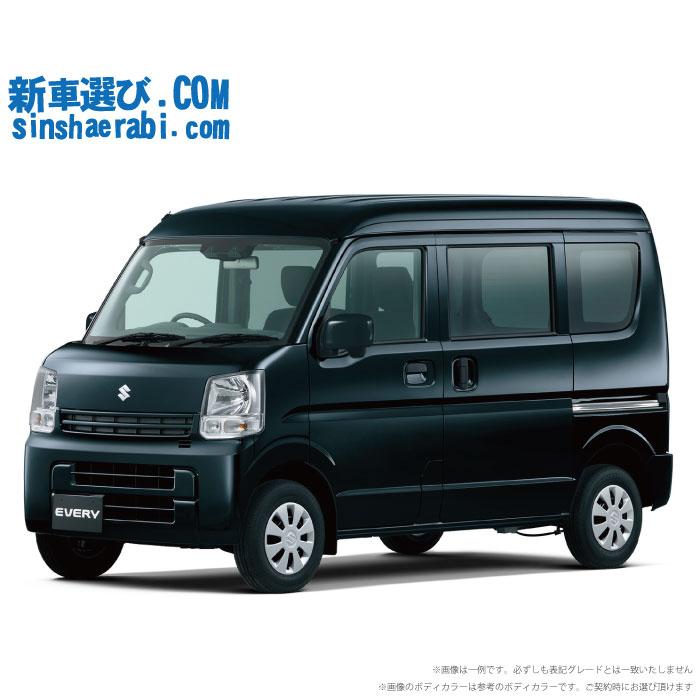 ☆月額 12,200円 楽乗りCAR 新車 スズキ エブリイバン 2WD 660 PC 5MT
