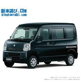 ☆月額 14,800円 楽乗りCAR 新車 スズキ エブリイバン 4WD 660 PC 4AT