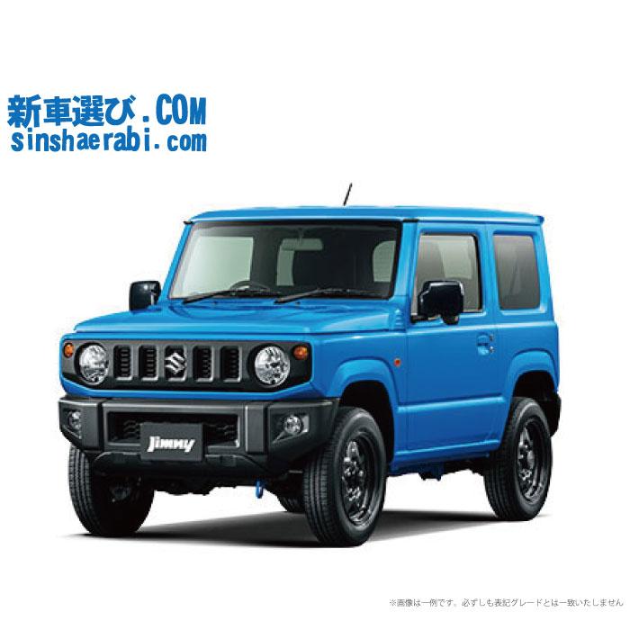 ☆月額 19,400円 楽乗りCAR 新車 スズキ ジムニー 4WD 660 XL 5MT