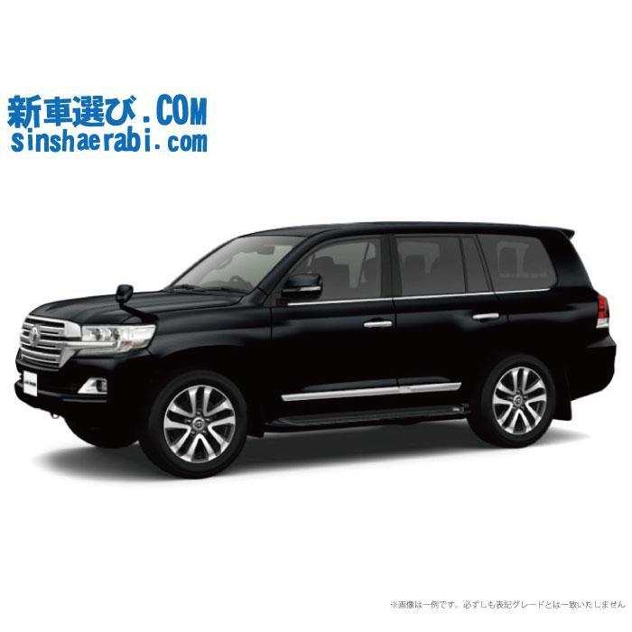 ☆月額74,700円 楽乗りCAR 新車 トヨタ ランドクルーザー200 4WD 4600 ZX 8人乗り