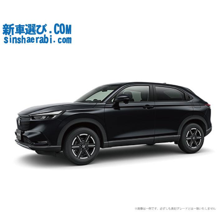 《新車 ホンダ ヴェゼル 2WD 1500 G Honda SENSING 》☆こちらの新車にはSDDナビ・バックカメラ・ドライブレコーダー・ETC・フロアマット・ドアバイザーが標準装備されてます!