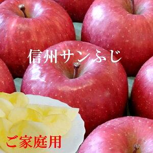 当店おすすめおいしい〜!信州サンふじりんご2.8〜3kg!産地直送サンふじりんご