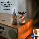 【aarikka/アアリッカ】パッカネン PAKKANEN クリスマス 雪だるま トナカイ/Snowman/Reindeer北欧雑貨/インテリア/日本正規代理店…