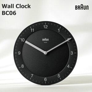 店舗クーポン発行中!BRAUN Wall Clock 《BC06Bブラック》《BC06Wホワイト》 BRAUN /ブラウン/壁掛け時計/ウォッチ/WATCH/北欧/デンマーク/ローゼンダール/アラーム