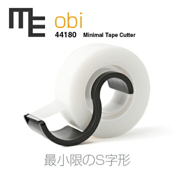 【METAPHYS│メタフィス】【ブラック】obiオビMETAPHYS44180MinimalTapecutterテープカッターデザイン