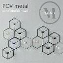 POV Metal candleholder wall POVメタルキャンドルホルダー ウォール menu メニュー Norm ノーム 壁掛け/ロウソク立て/キ...