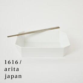 【有田焼/磁器】1616/arita japan TY SquareBowl-184 White  TYスクエアボウル184 ホワイト 柳原照弘デザインTYパレス/皿/plate/百田陶園/スタンダード/standard【RCP】