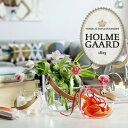 HOLMEGAARD ホルムガードclear H16cm DESIGN WITH LIGHT Pot with leather handle clear H16cm 4343518 ガラスポット …