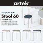 アルテック/artekStool60/スツール60バーチ3本足アルヴァアアルトフィンランド独立100周年記念カラーモデル